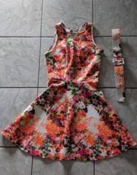 Vestidos floral e rosa novos - Maracanaú
