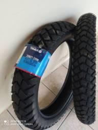 Par de pneus da XRE