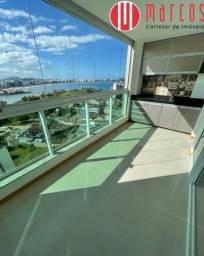 Lindo apartamento com vista para o mar no Centro de Guarapari.