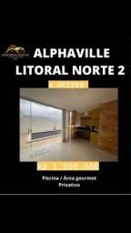 4 Suítes Dep completa Alphaville Litoral Norte 2
