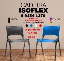 cadeira em polipropileno isoflex a partir de 145,00