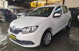 Renault Sandero 1.0 Flex 2020 Completo ( Financiamos sem entrada )