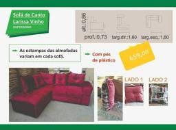 sofá de canto