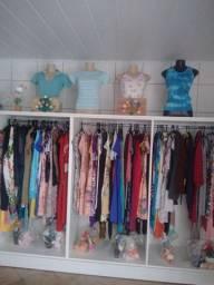 Vendo ou troco loja de roupas