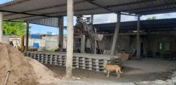 Fábrica para produção de artefato de cimento (locação)