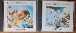2 CDs Alchemy Dire Straits Live Part One & Two (importado)