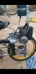 Bike motor de chapa bombinha
