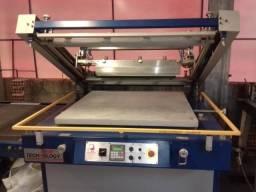 Impressora serigrafica e Curadora UV