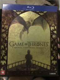 Box Game of Thrones 5 temporada (Blu?ray)