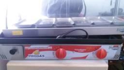 Chapa pro gas bifeteira PR-800g