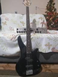 Kit Baixo Yamaha RBX 170 + Pedaleira Behringer Bass V+Amp Pro