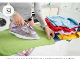 Passo e lavo roupa