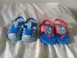 Sandalias de bebê