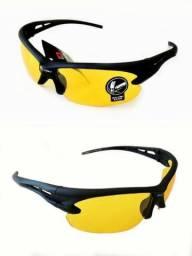 Oculos Dirigir Noite Amplia A Visão Para Carro Moto E Bike Uv-400