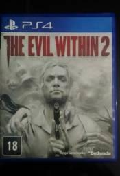PS4 - The Evil Within 2 (Vendo ou Troco)