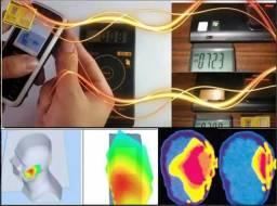 Proteção Eletromagnética (wi fi computador, celular, microondas, secador de cabelo)