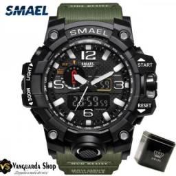 Relógio Esportivo Verde Smael Esportivo