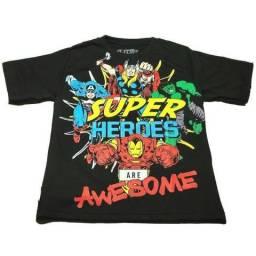 5ded225a9 Fornecedor de camisas infantis de personagens e super heróis para revenda -  atacado