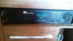 Amplificador machine 1.8 mx pró