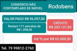 Consorcio de imóvel credito 205.000