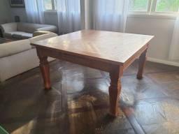 Mesa madeira de demolição