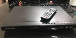 DVD Mondial Game Star USB com controle remoto e 2 controles