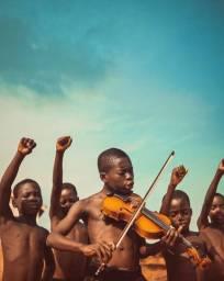 Recebemos sua Doação de instrumentos musicais