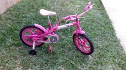 Bicicleta infantil.