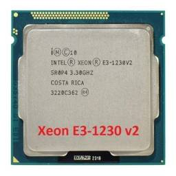 Cpu Processador Intel Xeon E3 1230v2 Equivale A ( I7 3770 )