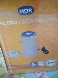 BOMBA FILTRO P/ PISCINA NOVA