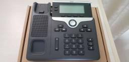 Telefone IP cisco modelo CP-7821 K9