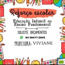 Aulas Particulares e Reforço escolar ( 1 ao 5 ano Ensino Fundamental )