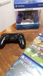 Games ps4 e controles