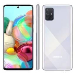 Smartphone Samsung Galaxy A71 128GB Prata