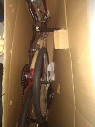 Vendo bicicleta nova na caixa com nota fiscal