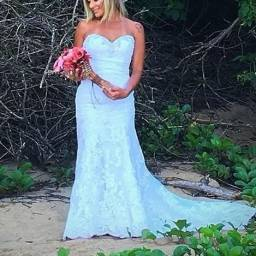 Vestido de Noiva Importado EUA Morilee