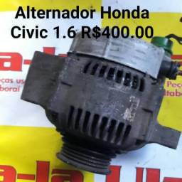 Alternador da sucata Honda Civic 1.6