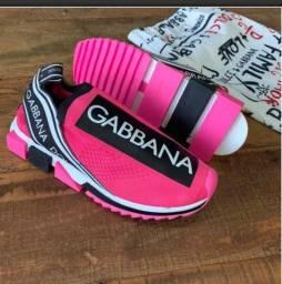 Tênis Dolce Gabbana Lançamento do 34 ao 39 pronta entrega!!