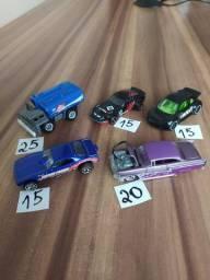 Carrinhos Miniaturas Hot Wheels Variados