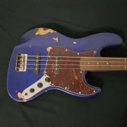 Baixo Fretless Jazz Bass
