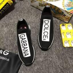 Tênis Dolce & Gabbana Sorrento Preto Original