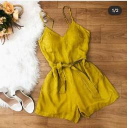 Macacão e vestido