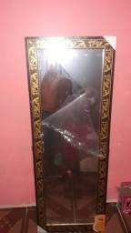 Espelho top  madeira de lei