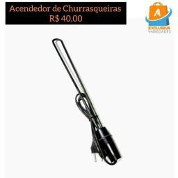 Acendedor Elétrico De Churrasqueiras e Lareiras + Entrega Grátis