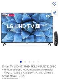 Smart LG 65 polegadas nova 1 ano de garantia