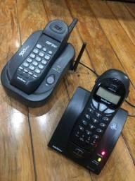 2 aparelhos sem fio da Intelbras