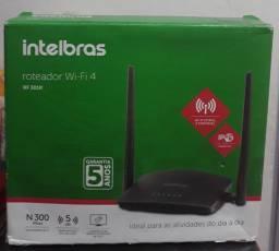 Vendo roteador wi-fi 4 Intelbras 100 reais