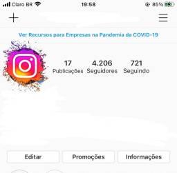 Vendo Instagram 4mil seguidores