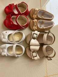 Sandálias infantil menina pampili