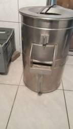Descascador industrial de batata metvisa 10kg